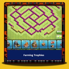 Clash of Clans - Farming trophées
