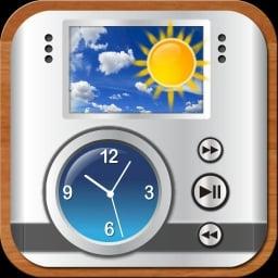 Sveglia super orologio con le previsioni del tempo