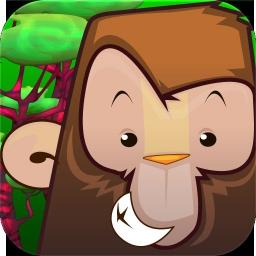 iSpringender Affe