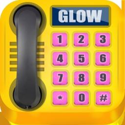 Glühendes Telefon