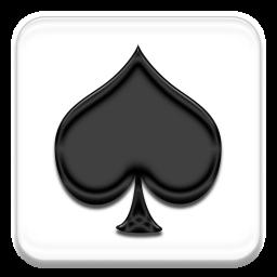 Pik Spielkarte