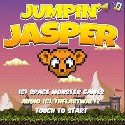 Jasper che salta