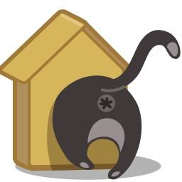 Katten Vogelhuis