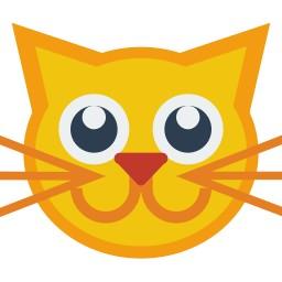 Goldene Katze