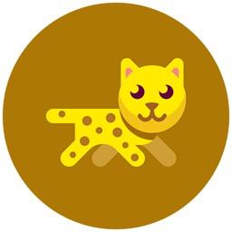 Katzen-Leopard