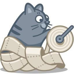Katzen-Papier
