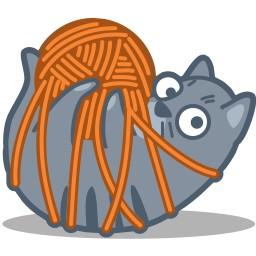 Cat Tied