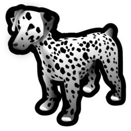Dog 3D Dalmation