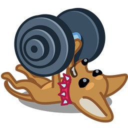 Dog Barbell