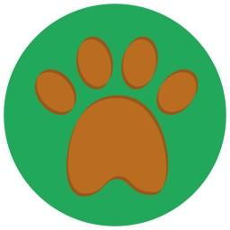 Hund Gatschiger Pfotenabdruck