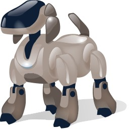 Dog Robot With Shadow