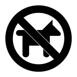 Cani non ammessi