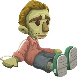 Bambola zombie horror