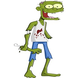 Horror Zombie Man