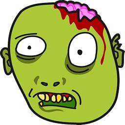 Zombie paresseux horreur