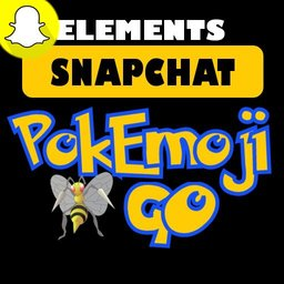 PokEmojiGO SnapChat Elements