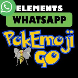 PokEmojiGO Whatsapp Elements