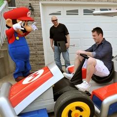 Mario and a Kart