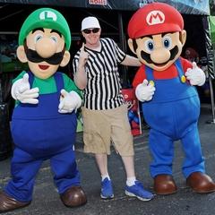 Mario and Luigi Visit Florida