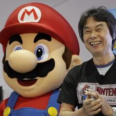 Mario and Shigera Miyamoto