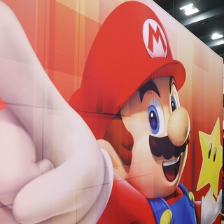 Mario at the Game Developers Conference
