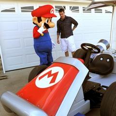 Mario Delivers a Kart