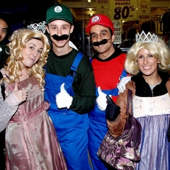 Mario Luigi and Princesses