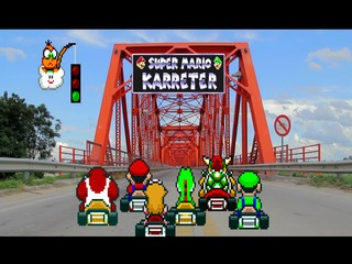 Super Mario Karreter (Super Mario Kart In Real Life Animation)