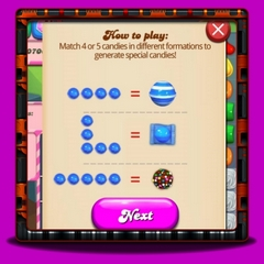Candy Crush Saga Special Candies