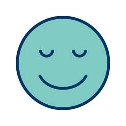 Smiley Happy grün