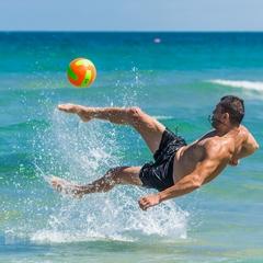 Beach-Ball-Spaß