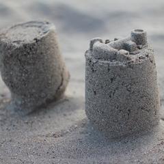 Silber Sandburgen