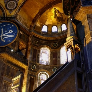 Hagia Sophia In The Sun