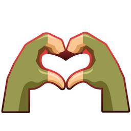 Fortnite Heart Hands