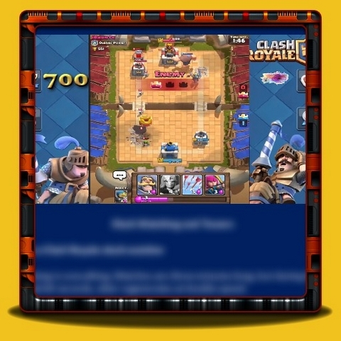 Clash Royale - Clock Watching and Towers