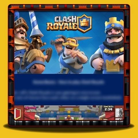 Clash Royale - Game Basics