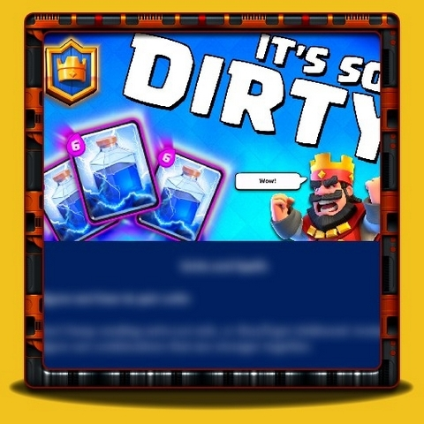 Clash Royale - Units and Spells