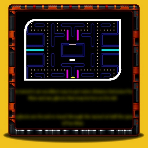 Pac Man - Making Use Of The Tunnel