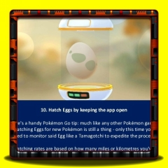 Pokemon Go - Hatch Eggs by keeping the app open