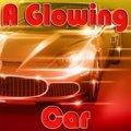 Ein Leuchtendes Auto