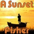 Un coucher de soleil de pêcheur