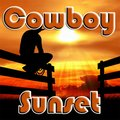 Cowboy Sonnenuntergang