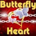 Ein Schmetterlingsherz