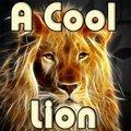 Ein cooler Löwe
