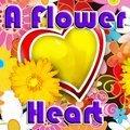 Ein Blumenherz