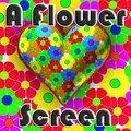 Ein Blumen Bildschirm