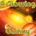 Una brillante galassia