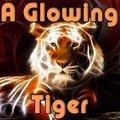 Ein Leuchtender Tiger