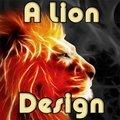 Ein Löwendesign