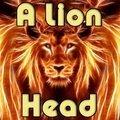 Ein Löwenkopf